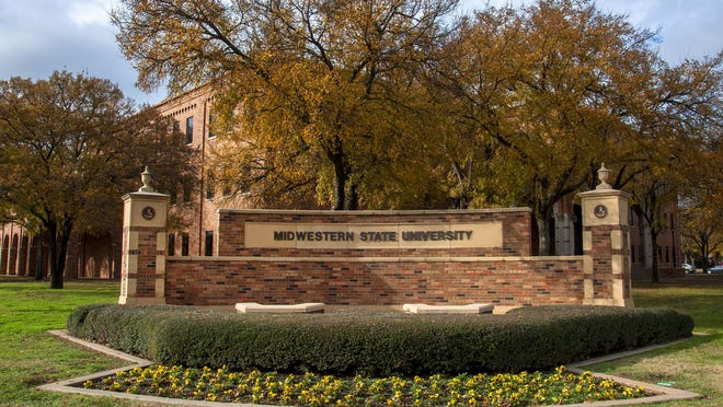 The Midwestern State University campus in Wichita Falls.