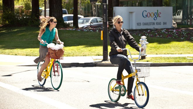 These bikes at Google's headquarters in Mountainview, Calif., are Millennial approved. A new survey out this month from investment firm Fidelity found that Millennial employees are willing to give up an average of $7,600 a year to work somewhere with better office culture.
