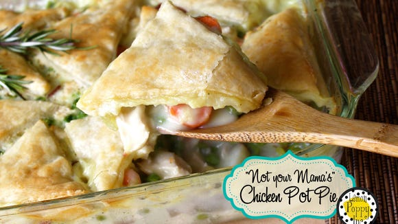 Suzie Long recommends the Chicken Pot Pie recipe by author Ali Eisenach' book 'When Life Gives You a Dinner Dilemma'.