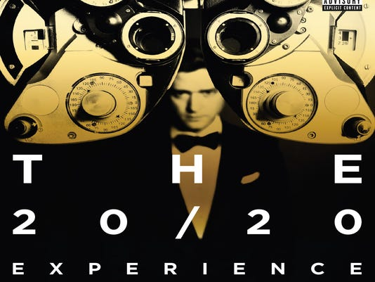Justin Timberlake 'The 20/20 Experience' cover art for Target special edition