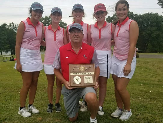 McKenzie girls won the Small Division District 14 title