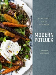 This new cookbook updates the traditional potluck.
