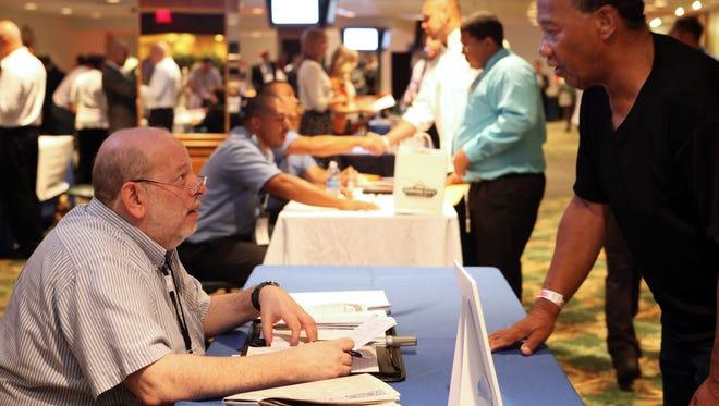 A job fair for veterans will be held at the Empire City Casino on Nov. 17.