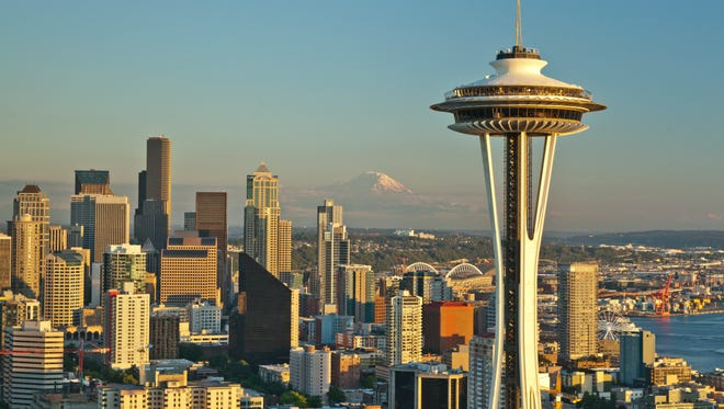 1. SeattleNumber of millennials who moved in: 29,628Number of millennials who moved out: 22,326Total population: 724,745Median rent price: $2,700