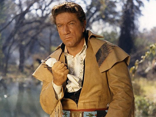 Richard Boone as Gen. Sam Houston in 1960's The Alamo