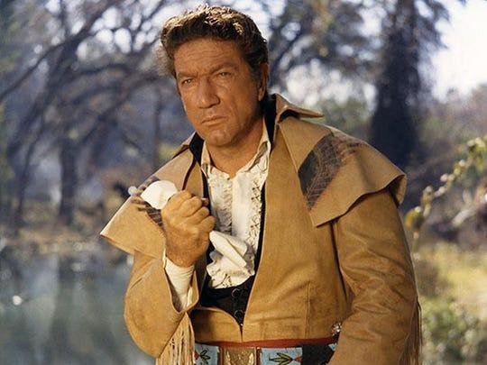 Richard Boone as Gen. Sam Houston in 1960's The Alamo