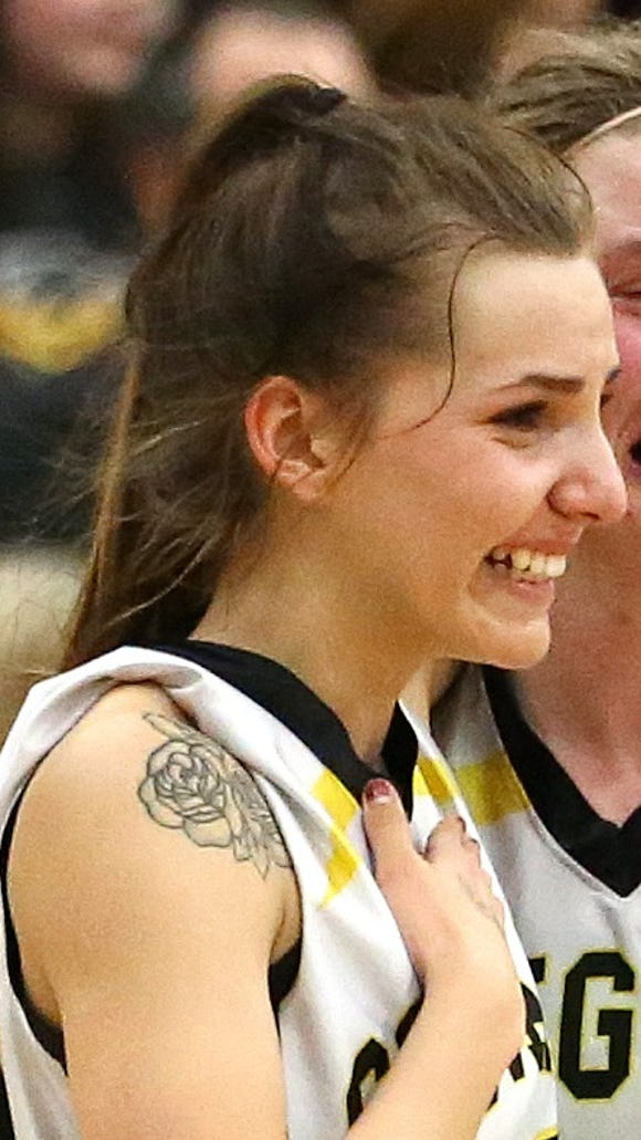 Cascade's Alyssa St. Peter was selected as first-team all-Oregon West Conference.