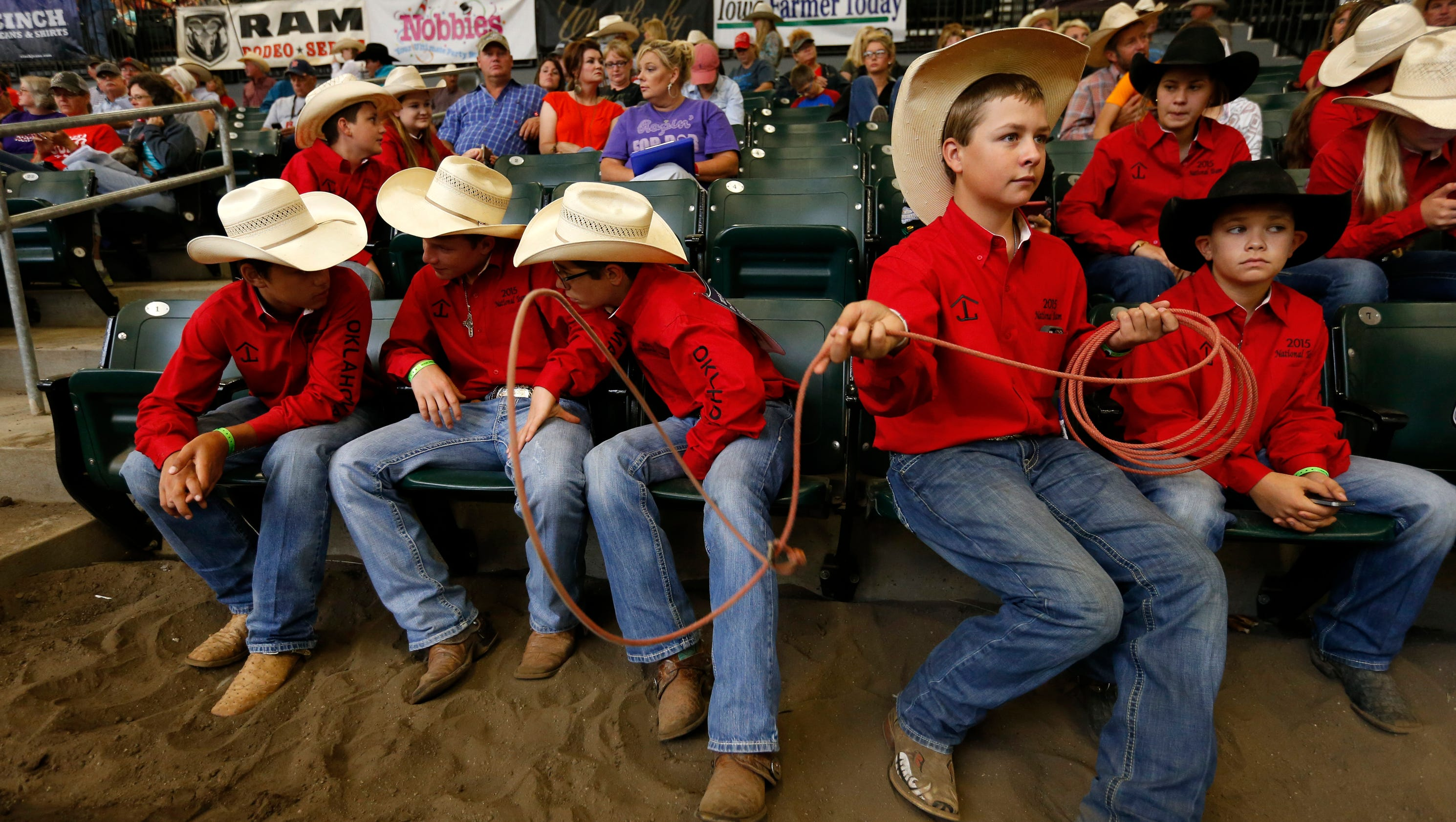 13 Photos National Junior High Finals Rodeo