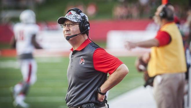Former Ball State coach Pete Lembo spoke to the Associated Press about the challenges at coaching at a school like Ball State.