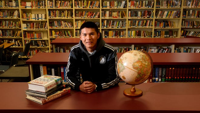Rocky Boy High School Academic All-Star Bowen Standing Rock.