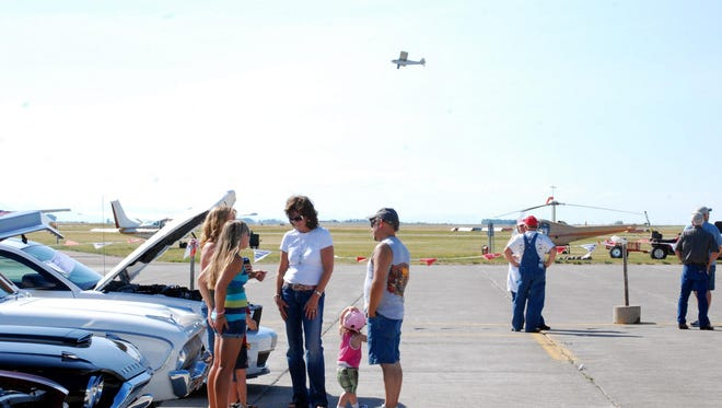 The Montana Fun Weekend includes a car show, fly-in, a free movie screening, car races and much more.