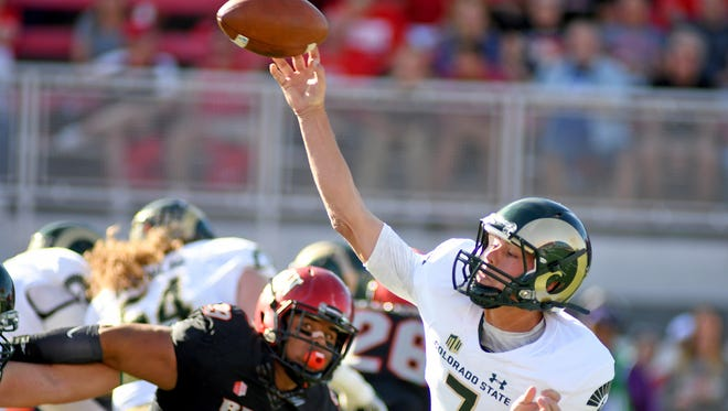 CSU quarterback Nick Stevens finally had the kind of passing performance the Rams were hoping for this season last Saturday, when he completed 21 of 28 passes for 237 yards and two touchdowns in a 42-23 win at UNLV.
