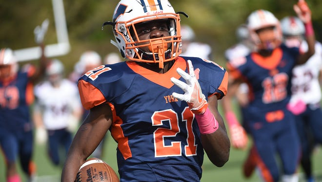Senior running back Khalid Dorsey has three scholarship offers entering his senior season.