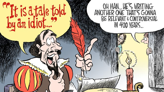 Shakespeare commentary by Andy Marlette