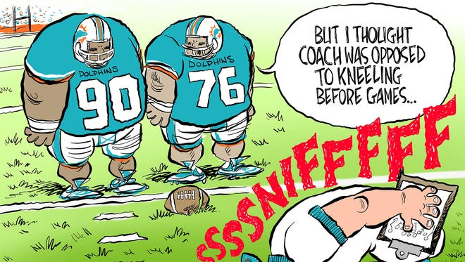NFL pick'em: Kneeling for snorting?