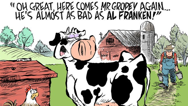 Al Franken commentary by Andy Marlette