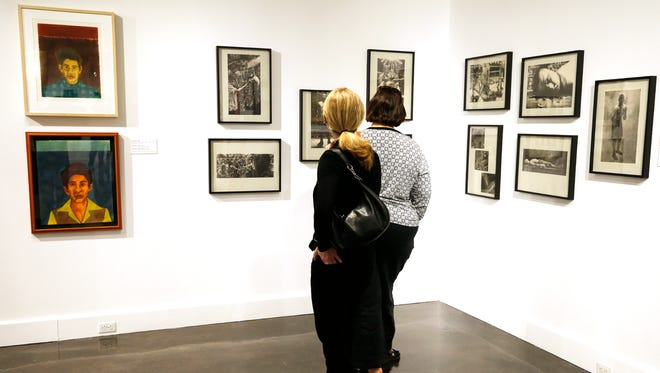 Visitors to the El Paso Museum of Art will have a chance to see actor, comedian and philanthropist Cheech Marin's private collection, Papel Chicano Dos: Works on Paper from the Collection of Cheech Marin, through June 17.