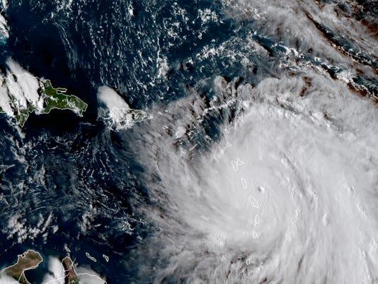 Hurricane Maria Sept. 18