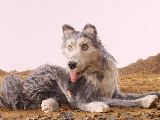 """10. """"Isle of Dogs""""   Wes Andersonrounds up a typically"""