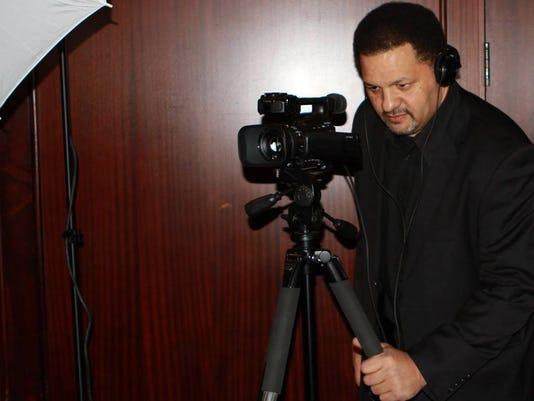 Tony Paris filming