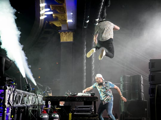 Electronic duo the Chainsmokers sold out the Rave's