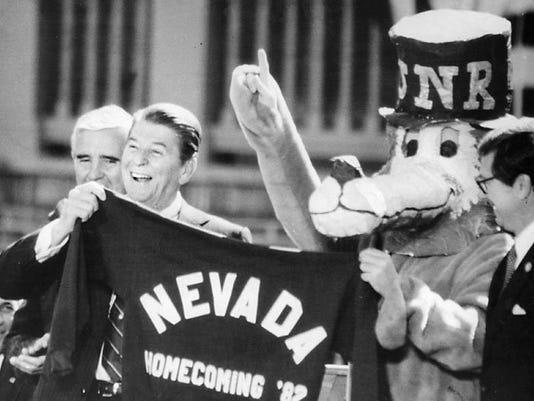 Ronald Reagan in Reno