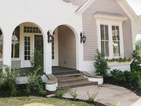 This home located on Fifth Street in Waco, Texas, was