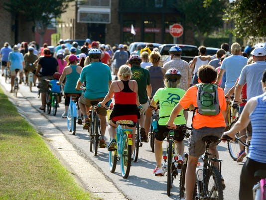 Bike Pensacola Slow Ride 13