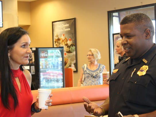 Citizens shared concerns and officers shared answers