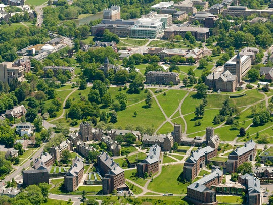 Cornell University: West Campus, Libe Slope and the