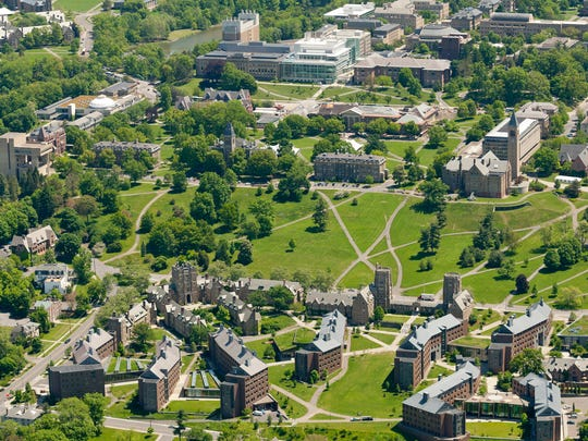 Cornell University: West Campus, Libe Slope and the Arts Quad.