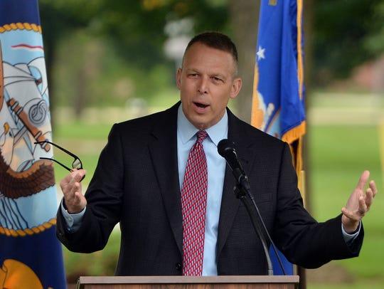 U.S. Rep. Scott Perry, R-Dillsburg, talks about having