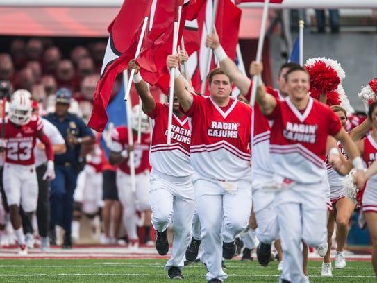 The Ragin Cajuns take the field on Saturday Sept. 23,