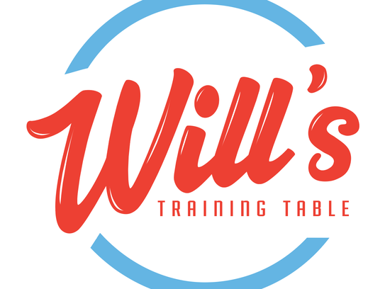 The logo for the new Will's Training Table restaurant