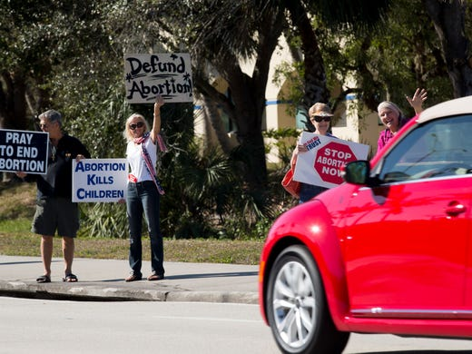 Rallies vs  abortion, aid to Planned Parenthood in U S  include Naples