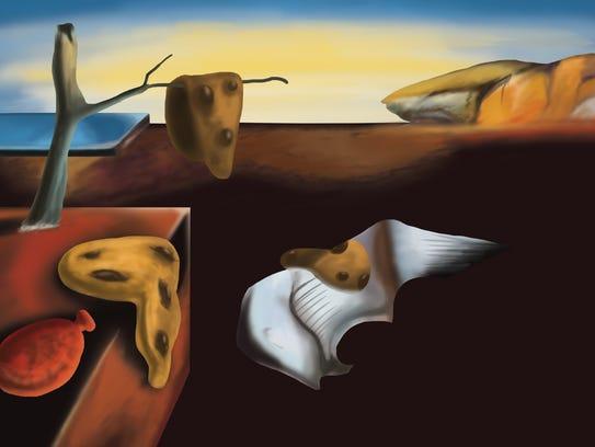 The more delectable version of Salvador Dali: The Persistence