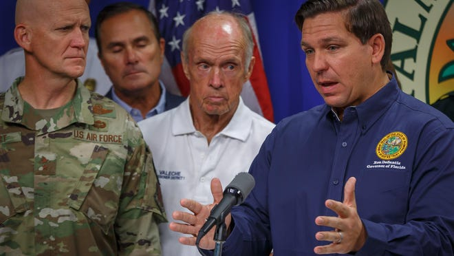 Governor Ron DeSantis said state officials are looking at the possibility of putting people who test positive for the coronavirus in facilities such as hotels. DeSantis said hotel owners have offered to allow use of their facilities..