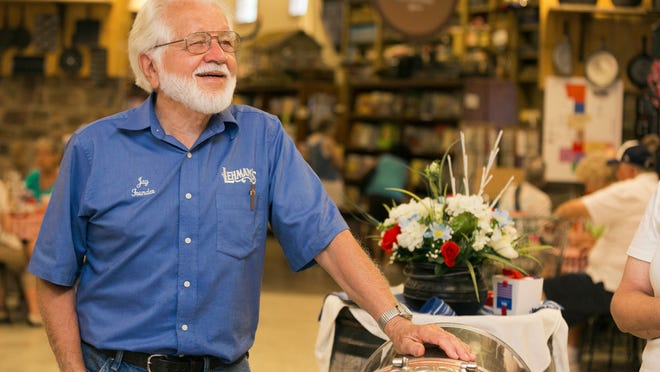 "Jay Lehman enjoyed fixing antique items or helping customers in the store even after he handed over operations to his son Galen. Some of the older items in the shop such as copper kettles and cast iron cookware were used as props in movies like ""Gangs of New York"" and ""Cold Mountain,"" according to information from the store website."