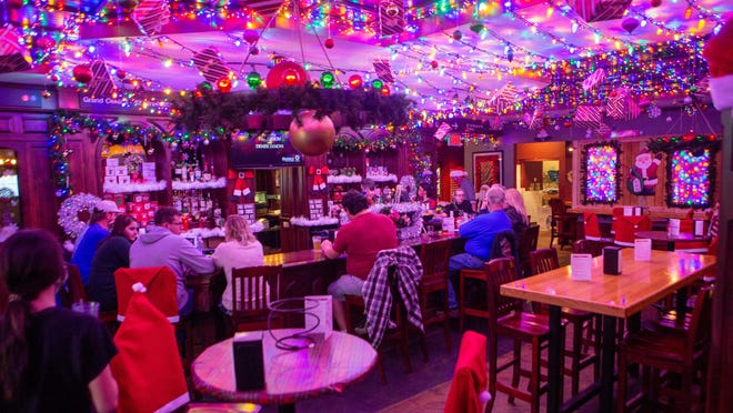 Friday was opening night for the Miracle pop-up Christmas bar at AJ's NY Pizzeria in Topeka.