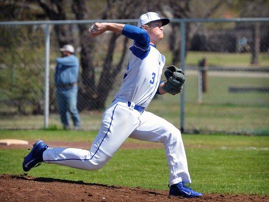 Windthorst Trojans pitcher Brady Tackett will represent