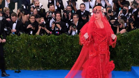 Katy Perry's Met Gala look had Twitter talking.