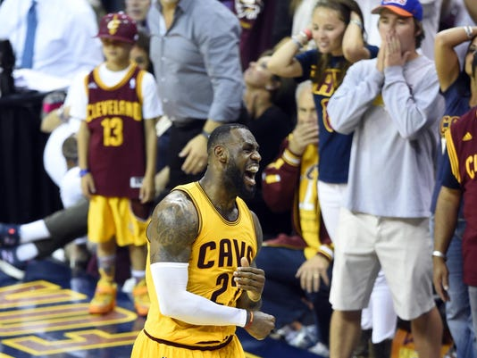 NBA: Playoffs-Golden State Warriors at Cleveland Cavaliers