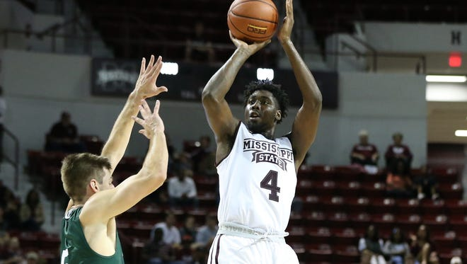 Mississippi State Mario Kegler shined in the win against Delta State.