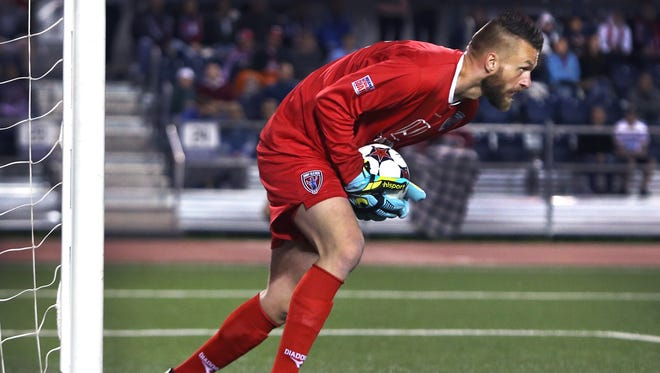 Indy Eleven goalie Kristian Nicht is back after a brief stint in the MLS.