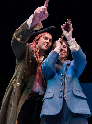 """""""Treasure Island"""" is playing at the Nashville Children's Theatre through Feb. 5."""