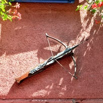 Stock image of a crossbow.
