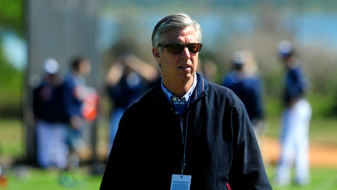 Dave Dombrowski led the Tigers to two pennants and four consecutive division titles.