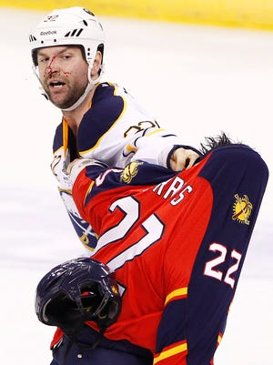 John Scott has played for six NHL team and seven organizations in his career.