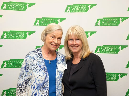 """Ann Ince of Knoxville, left, attended a """"meet and greet"""""""
