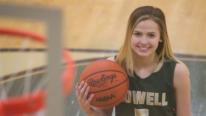Howell senior Alexis Miller has been chosen Livingston County's 2017-18 girls' basketball Player of the Year.